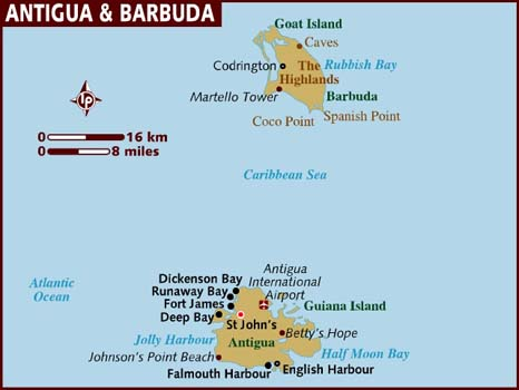 map antigua-barbuda