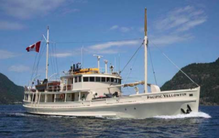 m/v Pacific Yellowfin yacht charters pacific northwest